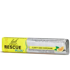 Bach Flower Remedies Rescue Plus 10 Sugar Free Lozenges