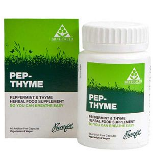 Bio-health Pep-Thyme Peppermint & Thyme Compound 60 Vegetarian Capsules