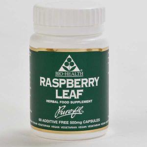 Bio-health Raspberry Leaf 500mg 60 Vegetarian Capsules