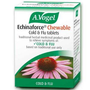 A. Vogel Echinaforce 80 Chewable Echinacea Cold & Flu Tablets