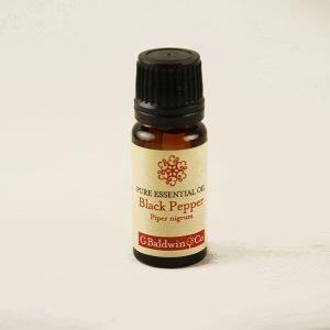 Baldwins Black Pepper (piper Nigrum) Essential Oil
