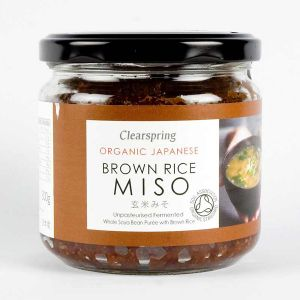 Clearspring Organic Brown Rice Miso Paste 300g Jar