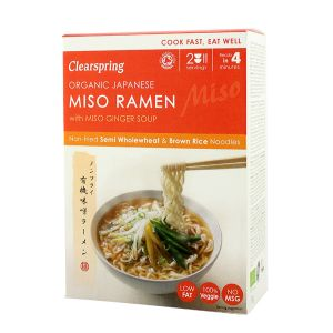 Clearspring Organic Japanese Miso Ramen With Miso Ginger Soup (2 Servings)