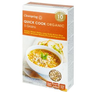 Clearspring Quick Cook Organic 5 Grains 250g