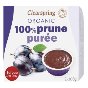 Clearspring Organic 100% Prune Puree 2x100g
