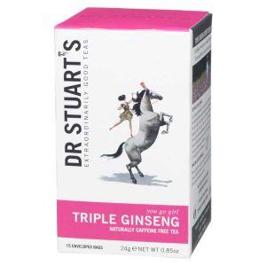 Dr Stuarts Triple Ginseng Tea (15 Tea Bags)
