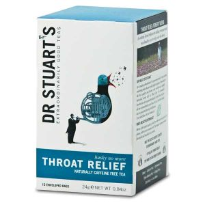 Dr Stuarts Throat Relief Tea (15 Tea Bags)