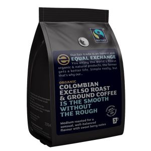 Equal Exchange Organic Colombian Excelso Roast & Ground Coffee 227g
