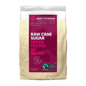 Equal Exchange Organic Raw Cane Sugar 500g