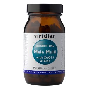 Viridian Essential Male Multi With Co Q10 & Zinc 90 Vegetarian Capsules