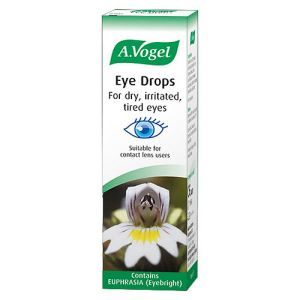 A. Vogel Eye Drops ~ For Dry, Irritated, Tired Eyes (eyebright/euphrasia) 10ml