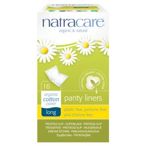 Natracare Organic Cotton Panty Liners Long x 16