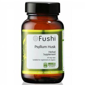 Fushi Organic Psyllium Husk 60 Capsules