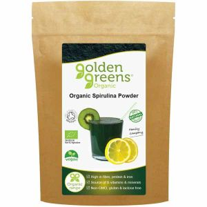 Golden Greens Organic Spirulina Powder 100g