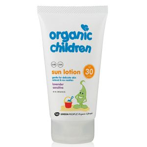 Green People Organic Children Scent-Free Sun Lotion SPF30 150ml