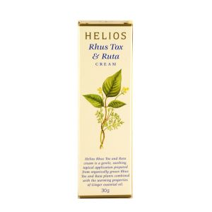 Helios Rhus Tox And Ruta Cream 30g