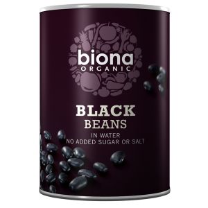 Biona Organic Canned Black Beans 400g