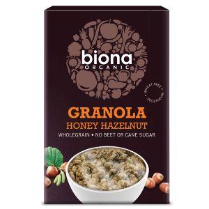 Biona Organic Wholegrain Granola - Honey & Hazelnut 375g
