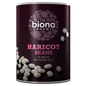 Biona Organic Canned Haricot Beans 400g