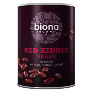 Biona Organic Canned Red Kidney Beans 400g