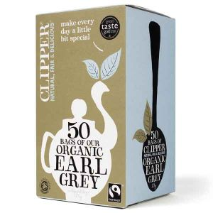 Clipper Organic Earl Grey Tea 50 Teabags