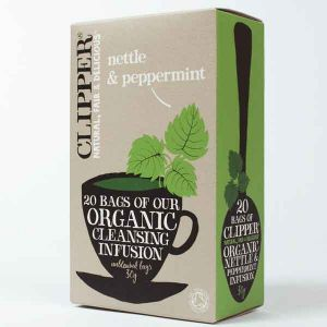 Clipper Organic Nettle And Peppermint Tea 20 Teabags
