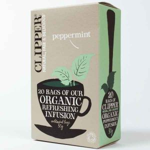 Clipper Organic Peppermint Tea 20 Teabags