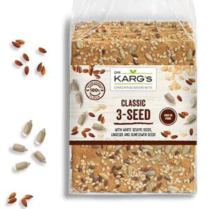 Dr Karg Organic 3 Seed Crispbread