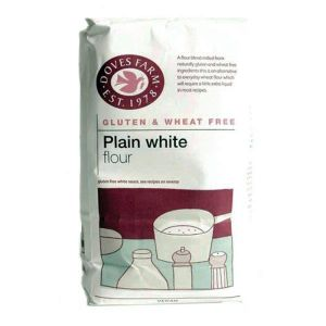 Doves Farm Gluten Free Plain White Flour 1kg