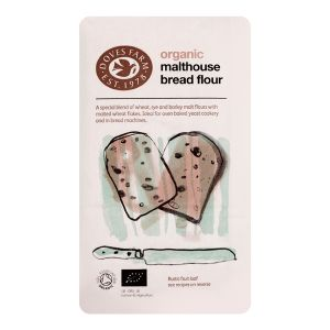 Doves Farm Organic Mixed Grain Malthouse Bread Flour 1kg