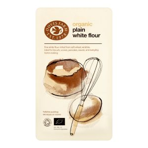 Doves Farm Organic Plain White Flour 1kg