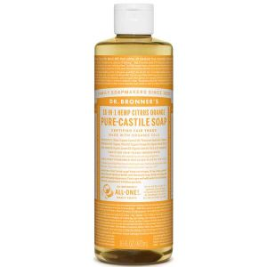 Dr Bronner Citrus Orange Pure Castille Liquid Soap 472ml