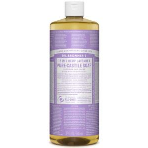 Dr Bronner Lavender Pure Castille Liquid Soap 944ml