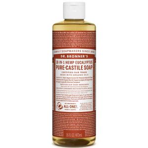 Dr Bronner's Pure Liquid Castile Soap Eucalyptus 473ml