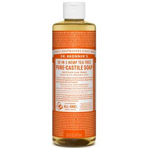 Dr Bronner's Pure Liquid Castile Soap Tea Tree 473ml