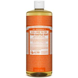Dr Bronner's Pure Liquid Castile Soap Tea Tree 946ml