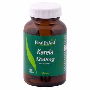 Health Aid Karela Extract 1250mg 60 Vegan Tablets