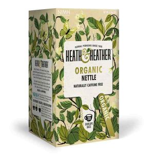Heath And Heather Organic Nettle Tea 20 Infusion Bags