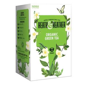 Heath And Heather Organic Green Tea 50 Tea Bags