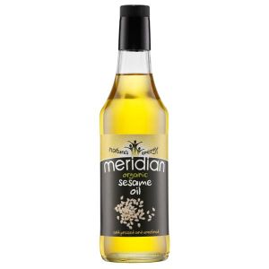 Meridian Organic Cold Pressed Unrefined Sesame Oil 500ml
