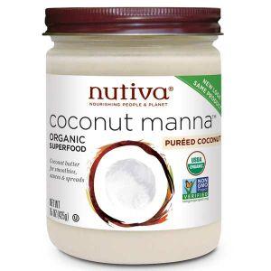 Nutiva Organic Coconut Manna (Puréed Coconut) 425g