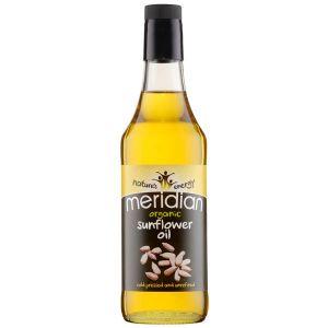 Meridian Organic Sunflower Oil Unrefined 500ml