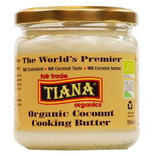 Tiana Organic Fair Trade Coconut Cooking Butter 350ml