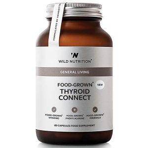 Wild Nutrition General Living Food-Grown Thyroid Connect 60 Capsules