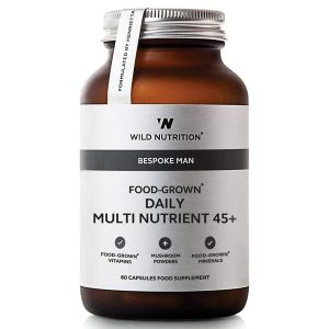 Wild Nutrition Bespoke Man Food-Grown Daily Multi Nutrient 45+ 60 Capsules