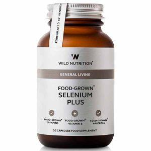 Wild Nutrition General Living Food-Grown Selenium Plus 30 Capsules