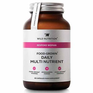 Wild Nutrition Bespoke Woman Food-Grown Daily Multi Nutrient 60 Capsules