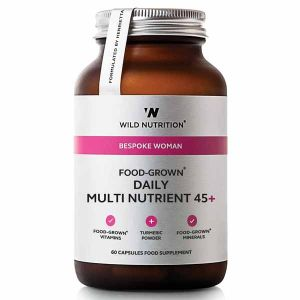 Wild Nutrition Bespoke Woman Food-Grown Daily Multi Nutrient 45+ 60 Capsules