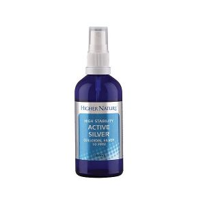 Higher Nature Colloidal Silver 100ml Spray
