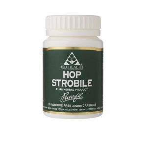 Bio-health Hop Strobile 300mg 60 Vegetarian Capsules